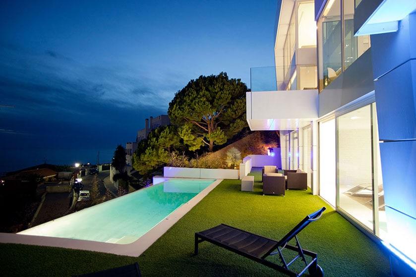 Villa Casablanca. Sitges, Barcelona.