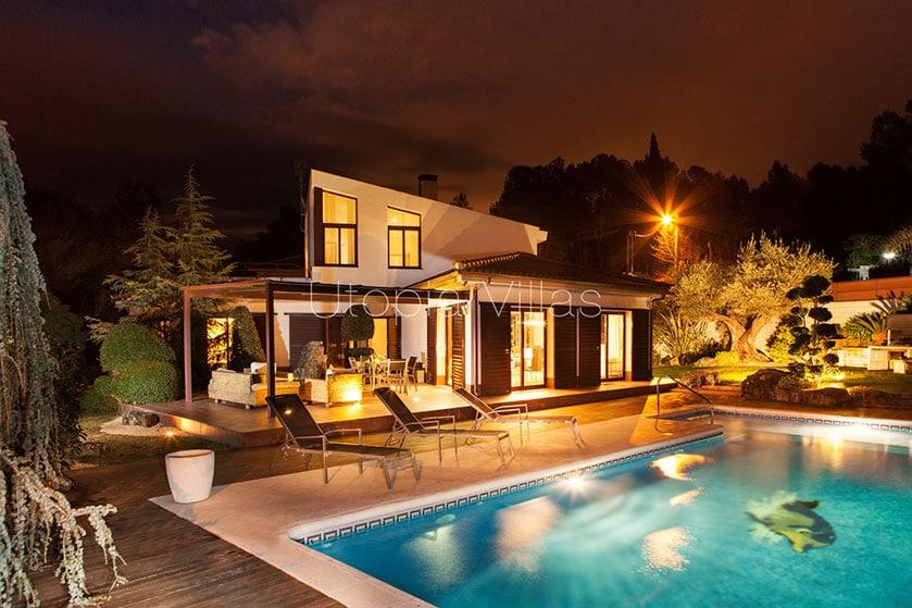 Villa Nuria. Sitges, Barcelona