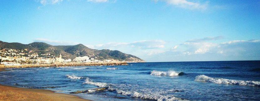 best beach in Sitges