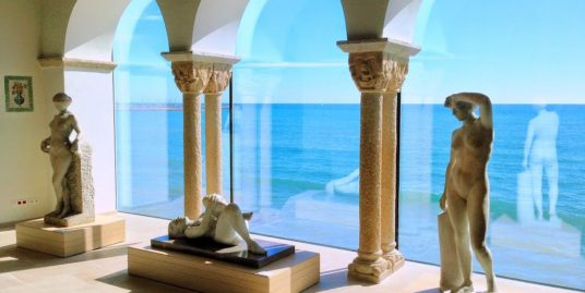 View to the ocean from the Maricell Museum