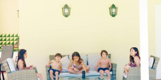 Family holidays at villa Francina